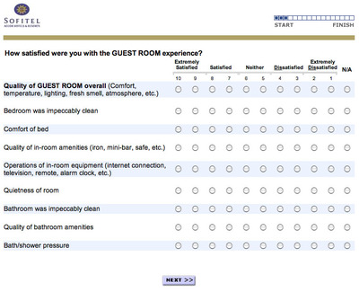 Customer satisfaction questionnaire for hotel – Sample Customer Satisfaction Survey